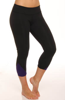 Supplex Diagonal Pop Gathered Legging