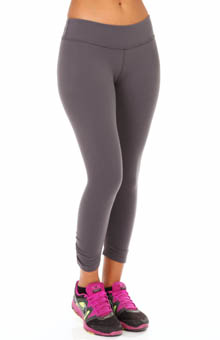 Supplex Back Gathered Legging