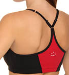 Supplex Shirred V Strap Bra