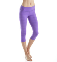 Beyond Yoga SS3079 Striped Supplex Capri Legging Beyo01-SS3079