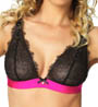 Black Bow Bras