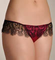 Blush Starlet Lace Trimmed Thong 0216722