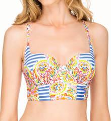 Blush Swimwear 551122T Sunrise Bustier Underwire Swim Top