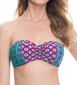 Blush Swimwear California Girl Underwire Bandeau Swim Top Z508146