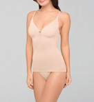 Body Wrap The Cinch & Lift Camisole Tankini with Underwire 44630