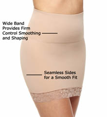 BODYSLIMMERS Nancy Ganz Lace Trim Hip Slip NG013