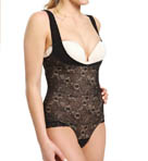 BODYSLIMMERS Nancy Ganz Lace Bustless Torsette Bodysuit NG029