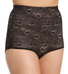 BODYSLIMMERS Nancy Ganz Lace Highwaisted Brief NG030