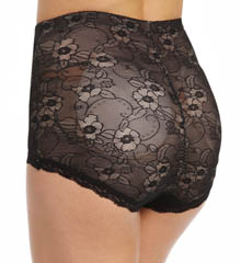 BODYSLIMMERS Nancy Ganz Lace Butt Booster Brief with Removable Pads NG031