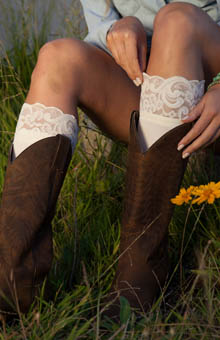 Bootights Darby's Knee High with Ankle Sock 3712