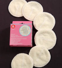 Bravado 6-Pack Reusable Moisture Wick Breast Pads