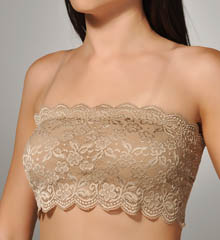 Chantilly Lace Bandeau Bralette
