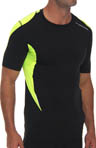 Brooks Nightlife Equilibrium Shortsleeve Shirt 210269