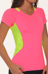 Brooks Nightlife Equilibrium Short Sleeve Top 220355