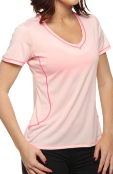 Versatile EZ Short Sleeve V-Neck Top