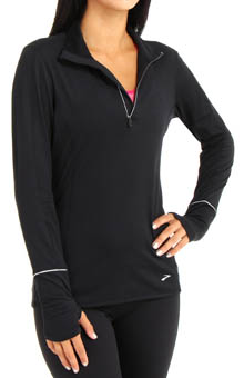 Essentials Long Sleeve 1/2 Zip II Top