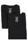 C-in2 Baseflex High V-Neck T-Shirt - 2 Pack 1211