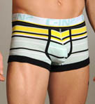 Pop Stripe Lo No Show Army Trunk