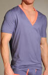 Pop Color Deep V Neck