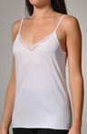 Charm Cotton Lace Trim Spaghetti Strap Cami