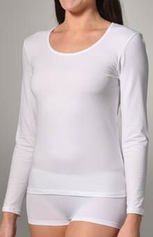 Calida Comfort Cotton Long Sleeve Tee 15027
