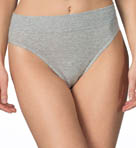 Elastic Hi Cut Brief Panties