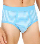 Striped Midislip Brief