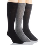 Calvin Klein Flat Knit Crew Length Sock - 3 Pack