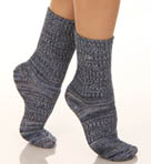 Space Dye Ribbed Socks