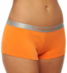 Calvin Klein Metallic Chrome Cotton Hipster Panty D1575
