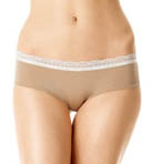 Lace and Sheen Hipster Panty
