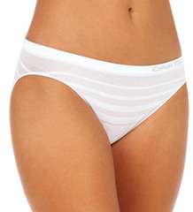 Ombre Stripe Bikini Panty