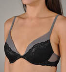 Calvin Klein Black Push Up Bra F3394