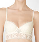 Calvin Klein CK Black Bridal Longline Underwire Bra F3598
