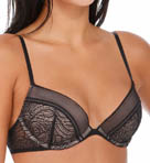 Calvin Klein Black Push Up Bra F3678