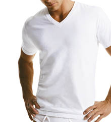 Short Sleeve V-Neck T-Shirt 3 Pack