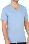 Short Sleeve V-Neck T-Shirts - 3 Pack