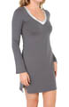 Essentials Long Sleeve Nightdress w/ Shelf Bra Image
