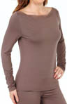 Launch Longsleeve Boat Neck Top
