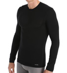 Micro Modal Long Sleeve Crew Neck Top