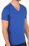 Athletic Performance Mesh V-Neck T-Shirt