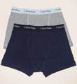 Calvin Klein Cotton Stretch Trunks - 2 Pack U2665F