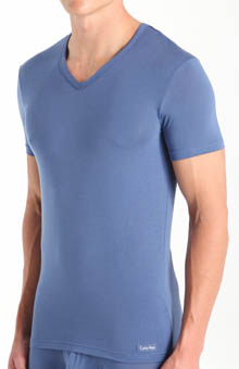 Micro Modal V-neck T-shirt