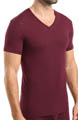 Micro Modal Short Sleeve V-Neck T-Shirt Image