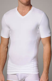 Core Sculpt Compression Shortsleeve V-Neck