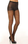 Linear Spiral Control Top Pantyhose
