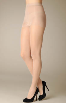 Matte Sheer Pantyhose with Control Top