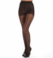 Calvin Klein Hosiery Window Pane Sheer Pantyhose With Control Top A40