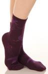 Floral Logo Sock