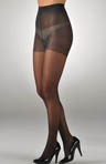 Zig Zag Stripe Sheer Tights with Control Top